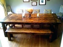 rustic dining table diy. Rustic Dining Table Build Room For New Ideas Farm Farmhouse Entry Plans Rustic Dining Table Diy