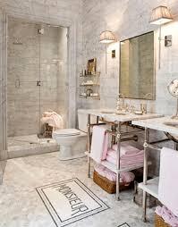 french marble mosaic bathroom