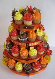 fall wedding cupcakes. Unique Cupcakes Fall Wedding Cupcake Tower Inside Cupcakes N