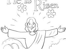 Jesus Resurrection Coloring Page Beautiful Resurrection Coloring
