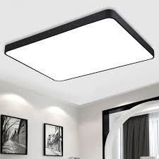 rectangular ceiling light. Best Modern Led Ceiling Light Rectangle Restaurant Lamp Dimming Ultra With Regard To Rectangular Ideas E