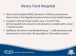 Henry Ford Health Chart Pan Physicians As Customers Building An Integrated Strategic
