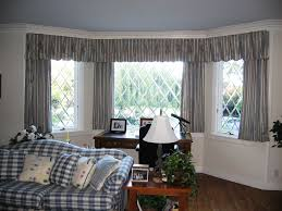 Interior:Bay Windows Design With Small Curtain Decor Bay Windows Design  With Small Curtain Decor