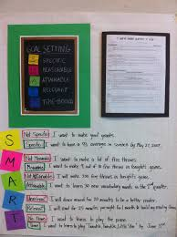Goal Chart Examples Goal Setting Anchor Chart Love The Examples Hello