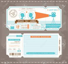 free ticket design template movie ticket wedding invitation design template royalty free