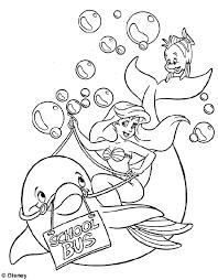 Ariel Little Mermaid Coloring Pages 2334 Baby Mermaid Coloring