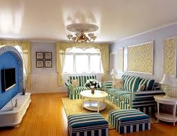 Mediterranean Decor Living Room Living Room Mediterranean Style Furniture Design With Blue Color