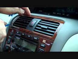 toyota avalon car stereo removal 2000 2003 youtube 6 Channel Amp Wiring Diagram at 1999 Avalon Without Amp Wiring Diagram