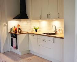 Small Kitchen Lighting Stunning Small Kitchen Design With Led Lighting And Wooden Floor