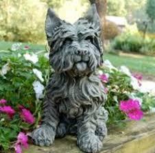 dog garden statue. Modren Dog Westie Terrier Dog Garden Statue And N