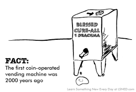 Facts About Vending Machines Magnificent FACT The First Coinoperated Vending Machine Was 48 Years Ago