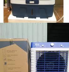 Quạt điều hòa AQUA 65L nước 150W 8000m3 gió AQ-8000- Bơm tự ngắt động cơ  đồng- Quạt điều hòa hơi nước- Bảo hành 1 năm