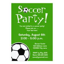 Soccer Party Invitations Soccer Party Invitations For Birthdays Or Bbq Zazzle Com