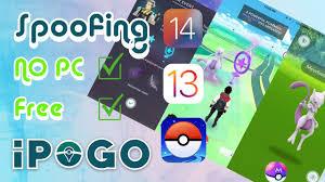 NEW Install iPoGo Pokemon GO iOS 15 14 - 14.5 / 13 / 12 ✓ Pokemon GO  Spoofer iOS FREE and NO PC 2021 - YouTube