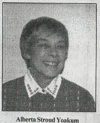 Thelma Alberta Stroud Yoakum (1929-2000) - Find A Grave Memorial