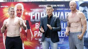 Paul Gallen vs Barry Hall fight start ...