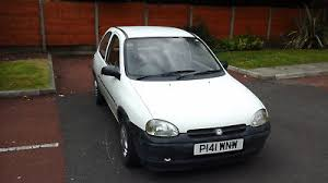 vauxhall corsa 1 2 white 3 door 1997 fully working 10 mth mot