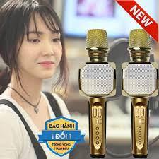 Mic hát karaoke bluetooth mini cầm tay kèm loa k3 - Sắp xếp theo liên quan  sản phẩm