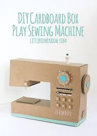 Cardboard Sewing Machine