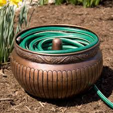 garden hose pot with lid. Without Lid Garden Hose Pot With