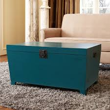 turquoise pyramid trunk coffee table asian coffee