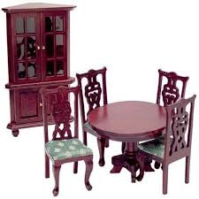 dollhouse dining room furniture. Aztec 1\ Dollhouse Dining Room Furniture