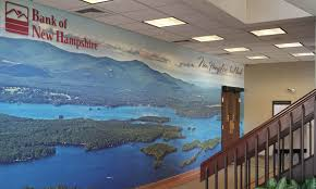 lobby wall mural