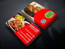 Fast Food Business Card Design Restaurant Business Card Design Graphic Design Restaurant