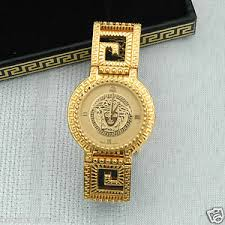vintage gianni versace signature medusa gold plated g20 men 039 s vintage gianni versace signature medusa gold plated g20
