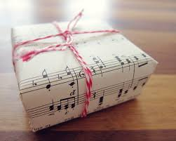 Gifts for a musician. music-gift