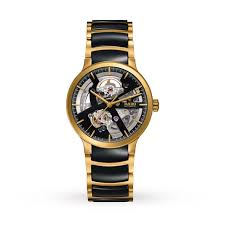 rado centrix skeleton mens watch mens watches watches goldsmiths rado centrix skeleton mens watch