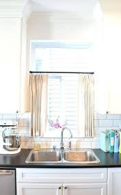 window over sink best window treatments images on for the home in kitchen curtain ideas window window over sink over the kitchen