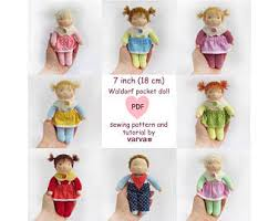 Doll Patterns Amazing Doll Pattern Etsy