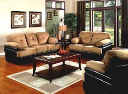 Living Room Color Schemes With Brown Furniture Furniture Family Room With Stone Wall Fireplace And Hardwood
