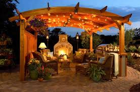 lighting for pergolas. 20 Awesome Outdoor Lighting Ideas You Might Want To Try For Pergolas