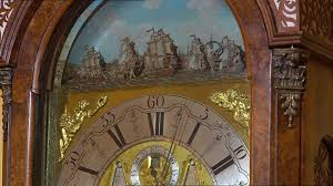 grandfather clock face. sd rights managed stock footage # 512-999-045 grandfather clock face