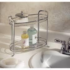 bathroom storage accessories. amazoncom interdesign axis free standing bathroom vanity storage shelf for towels soap accessories 2 tiers chrome home u0026 kitchen