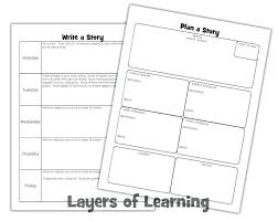 How To Write A Children S Story Template Teaching Kids To Write A Story Writing Template For Indemo Co