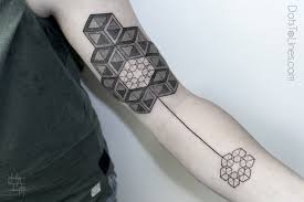 Innovative Geometric Tattoo Inspiration