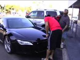 photo of Mario Lopez Audi R-8 - car