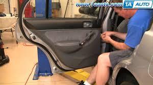 2001 Honda Civic Rear Door Panel