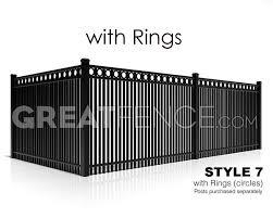 aluminum privacy fence. Aluminum Privacy Fence