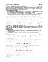 entertainment executive resume sample example of executive resume