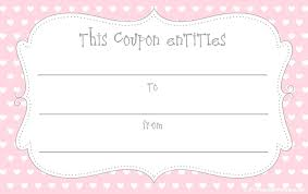 Coupon Templates For Word Template Gift Certificate Template Word 13