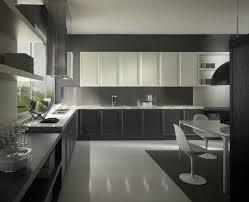 Modern Kitchen : Granite Countertops And Black Then Tile ...