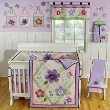 sumersault lily crib bedding lavender