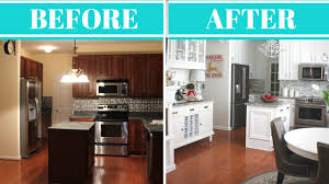 Kitchen Makeover Kitchen Makeover Reveal Tour Before After Youtube