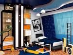 Интерьер спальни для мальчика дизайн