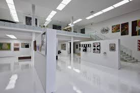 gallery interior of Big Residence with Art Gallery in Lower Level