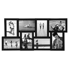 malden puzzle junction 8 openings 4 x 6 black picture frame collage